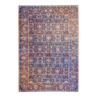 Extraordinary Early 20th Century Yazd Rug For Sale