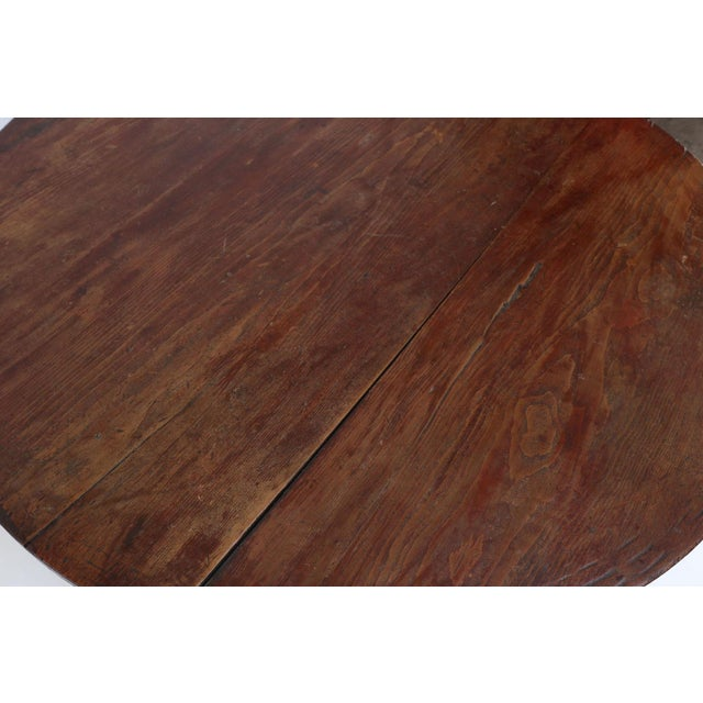 Large Pine Cricket Table For Sale - Image 12 of 13