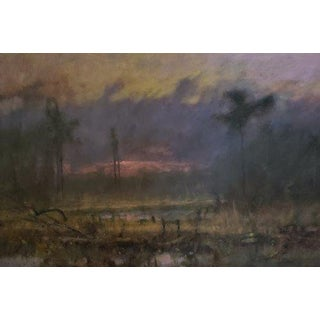 "Chris Burkholder ""Logging Road"" Oil Painting For Sale"