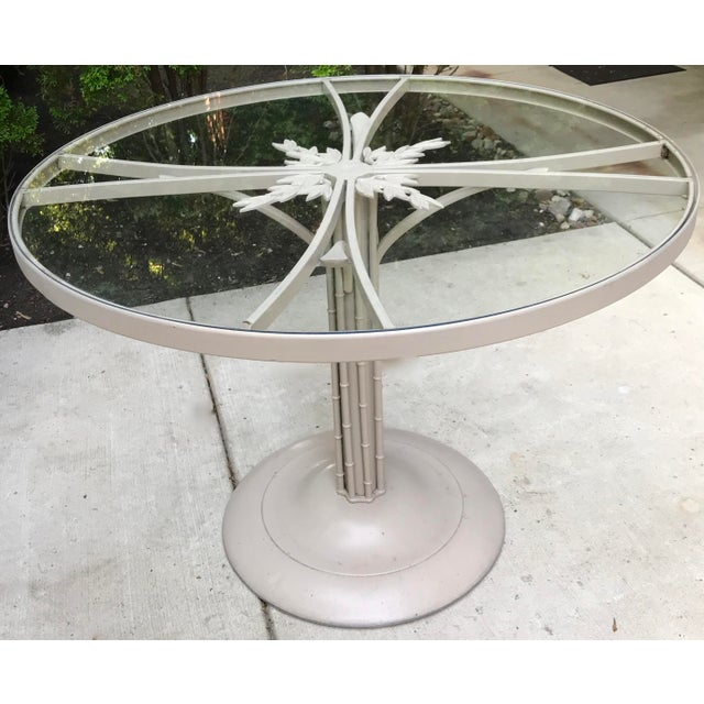 1960s 1960s Brown Jordan Iron Outdoor Dining Table, Circa 1960 For Sale - Image 5 of 7