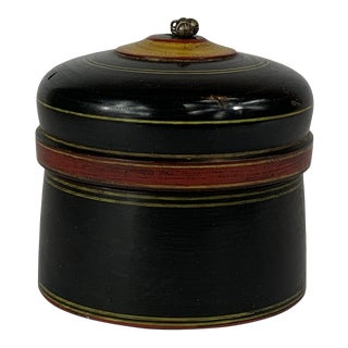 Late 20th Century Spice Box For Sale