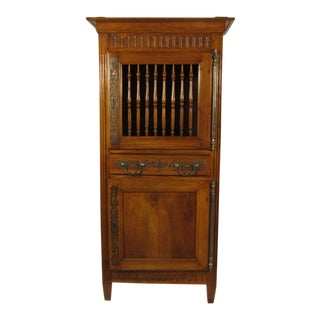 19th Century French Louis XVI Walnut Armoire For Sale