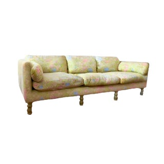 Last Call Corsican Citron & Fraise Mid-Century Sofa by Heritage Henredon