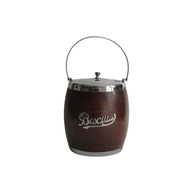 English Biscuit Barrel - Image 1 of 5
