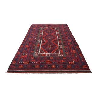 Afghan Tribal Maimana Kilim Rug For Sale