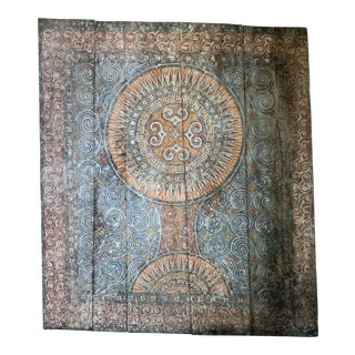 Abstract Hand Carved Toraja Wall Art For Sale