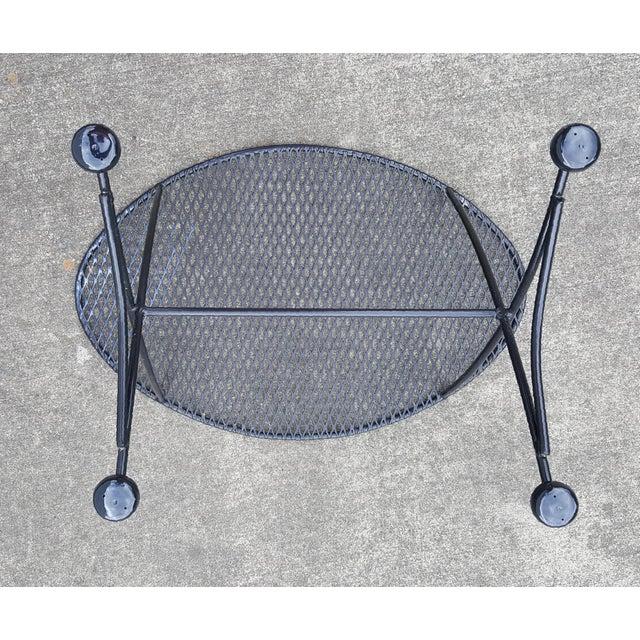 Maurizio Tempestini 1960s Mid Century Modern Tempestini for Salterini Patio Side Table For Sale - Image 4 of 10