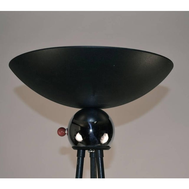"""Mid-Century Modern Mid Century Tripod Torchiere Floor Lamp by """"Keystone"""" For Sale - Image 3 of 8"""