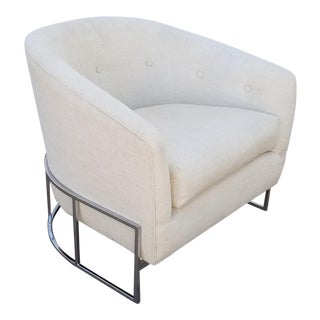Mid-Century Modern Milo Baughman for Thayer Coggin Club Chair For Sale