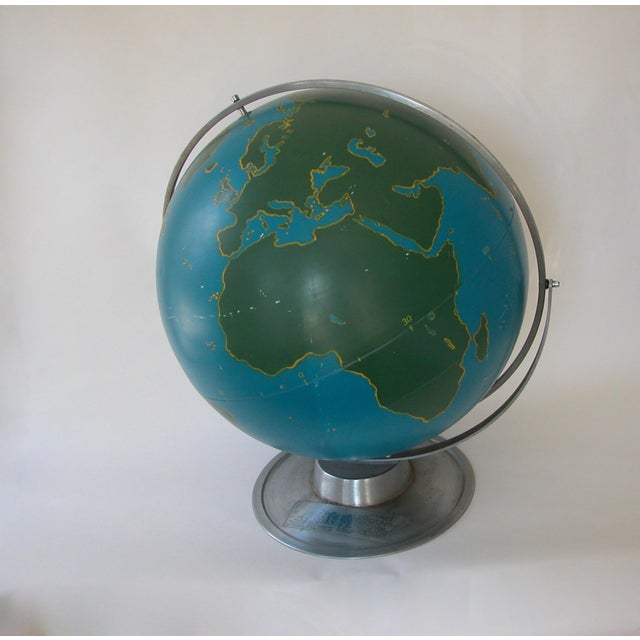 Vintage Nystrom Aviation Globe For Sale - Image 10 of 11