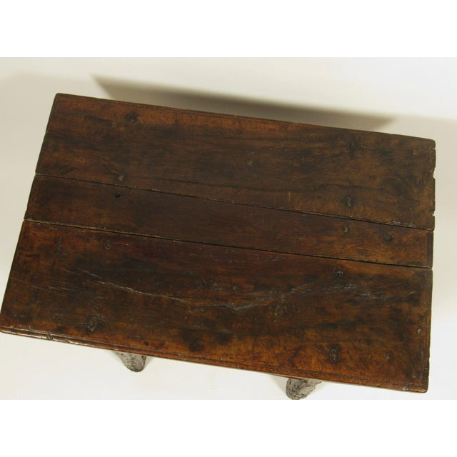 17th C. Spanish Side Table For Sale - Image 4 of 7
