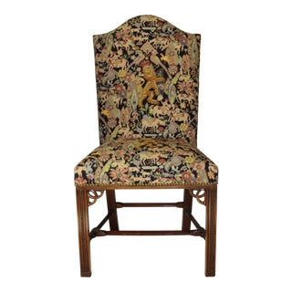 Needlepoint Chair by Maitland Smith For Sale