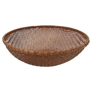 Large Winnowing Basket For Sale