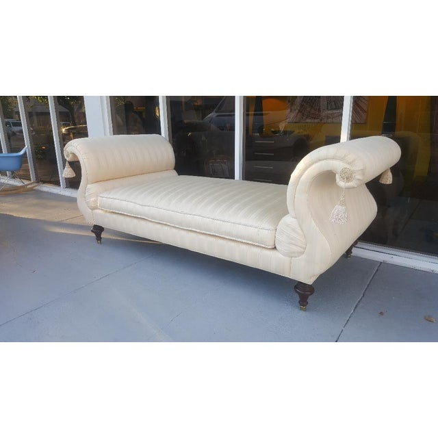 Empire 20th Century Empire Baker Furniture Daybed For Sale - Image 3 of 11