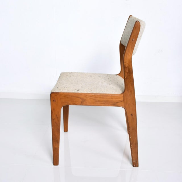 1980s Benny Linden Mid-Century Danish Modern Teak Dining Chairs - Set of 4 For Sale - Image 5 of 11