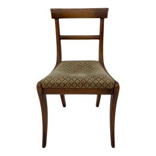 1940's Regency Vintage Side Chair / Desk Chair For Sale