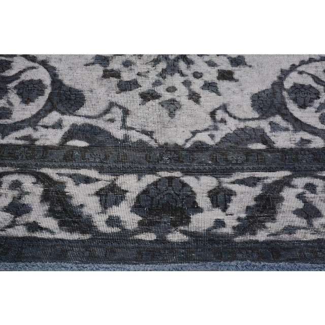 2010s Burjusta Color Reform Frederic Gray/Gray Wool Rug - 9'3 X 11'9 A9431 For Sale - Image 5 of 7