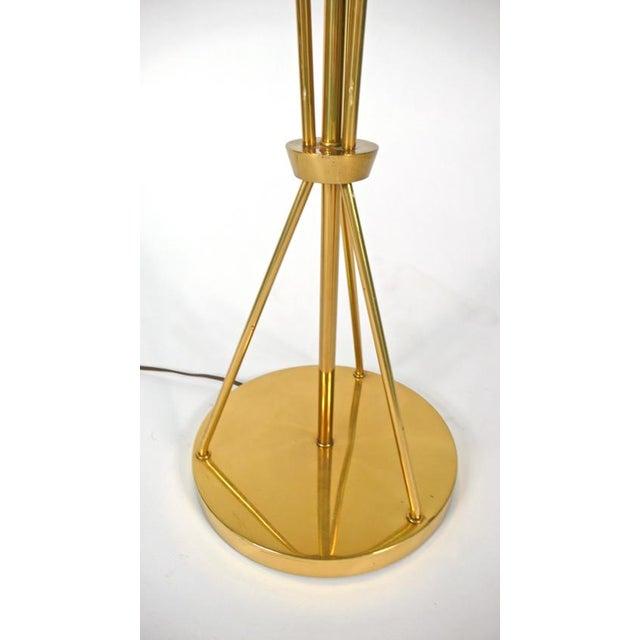 Gold Lightolier Floor Lamp For Sale - Image 8 of 10