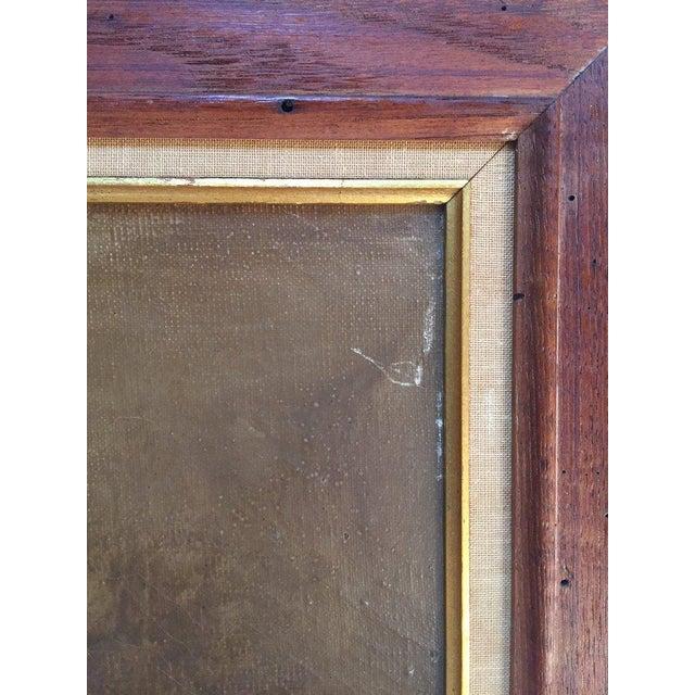 Vintage Mid-Century Cocker Spaniel Portrait Oil Painting For Sale - Image 9 of 13