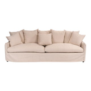 Sarried Ltd Ecru Frost Sofa For Sale