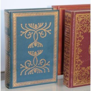 24k Gold Embossed Decorative Library Books - Set of 4 Preview