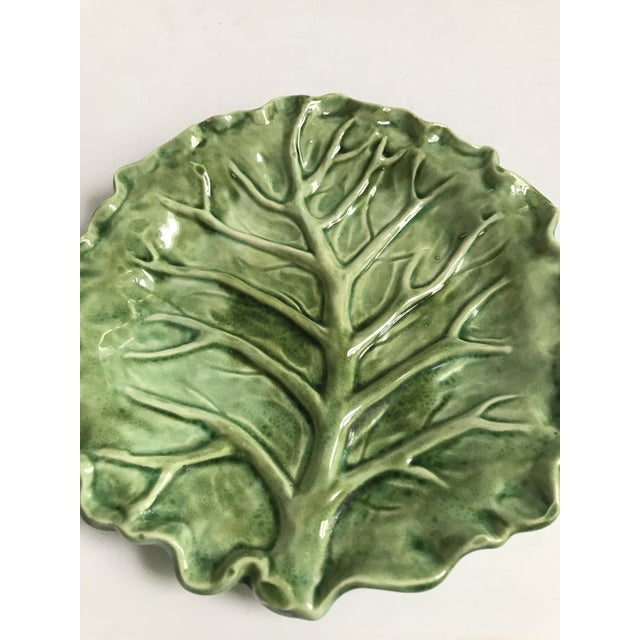 Cabbage Leaf Serving Plate - Image 5 of 8