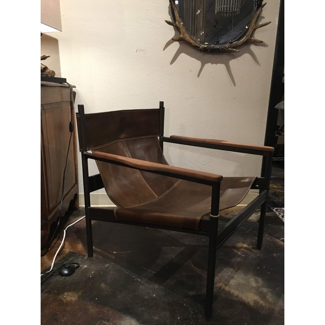 Brown Modern Cisco Brothers Barcelona Chair For Sale - Image 8 of 13