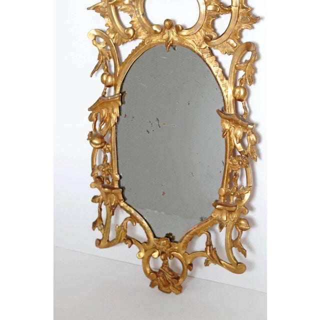 Late 18th Century George III Chippendale Style Pier Glass Mirror For Sale - Image 5 of 13