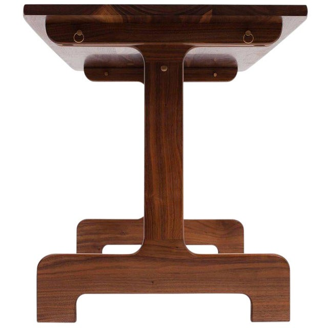 Asa Pingree Physalia Desk in American Walnut For Sale - Image 9 of 9