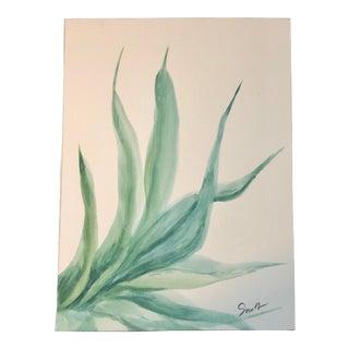 Nancy Smith Original Watercolor Botanical For Sale