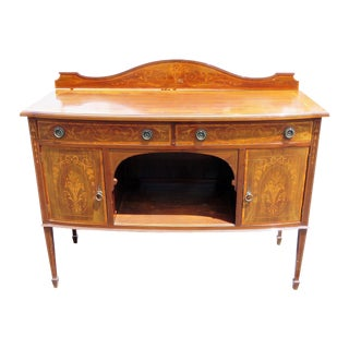English Attr. Edwards and Roberts Inlaid Server For Sale