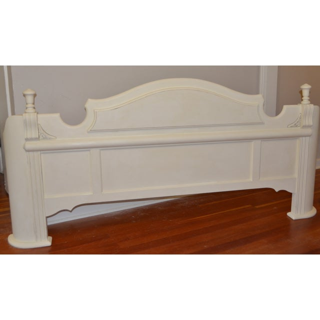 White King Size Bed Frame - Image 4 of 9