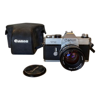 Vintage Canon Tx 35mm Film Camera For Sale