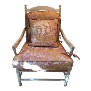 Arts and Crafts Wesley Hall Arm Chair For Sale