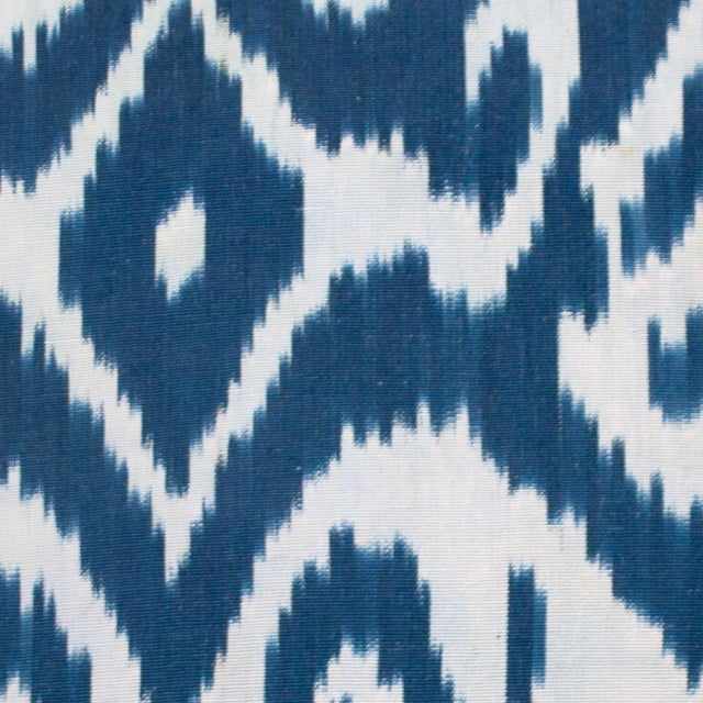 """Fabric: Silk front with linen back Dimensions: 18""""W x 18""""H Insert: Feather and down Part of the exclusive CLOTH & KIND..."""