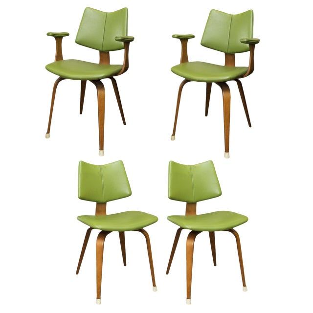 Thonet Bentwood Dining Chairs - Set of 4 - Image 1 of 10