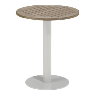 "24"" Round Outdoor Bistro Table, Vintage For Sale"
