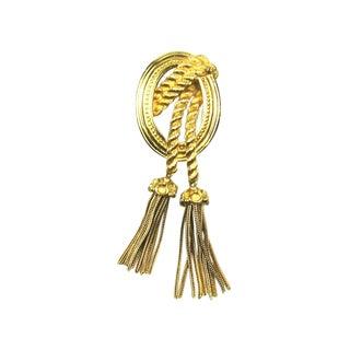 Christian Dior Tassel Brooch For Sale