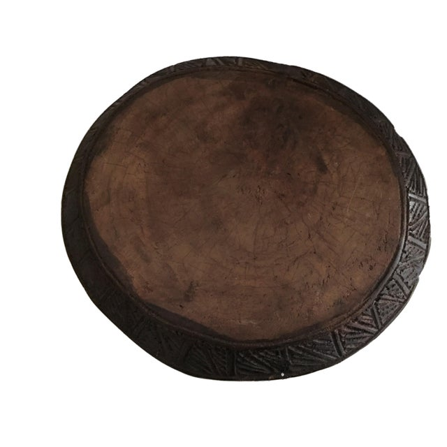 """Superb African Baga Low Stool Guinea 12"""" H For Sale - Image 11 of 12"""