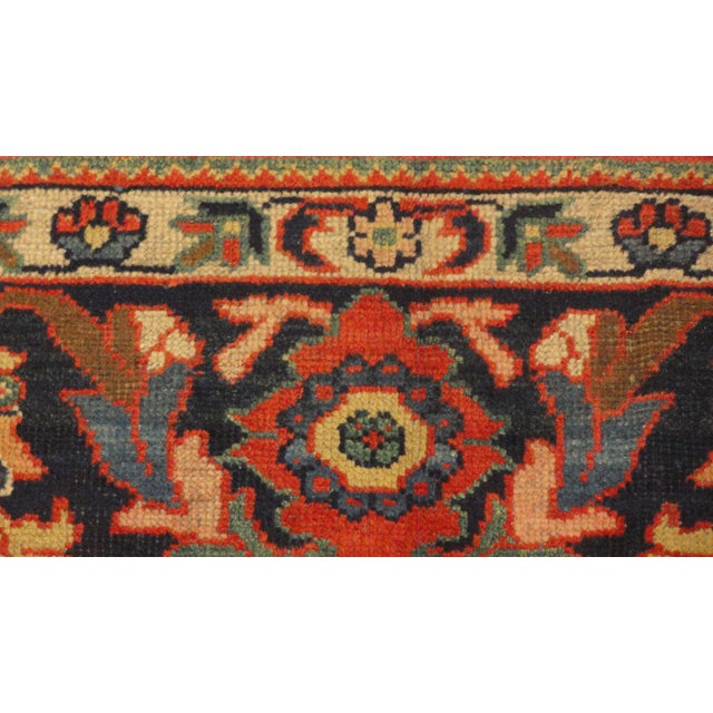 """Antique Persian Sultanabad Rug - 7'5"""" X 10'2"""" - Image 3 of 4"""
