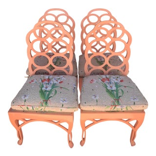Frances Elkins Loop Chair- Set of 4 For Sale