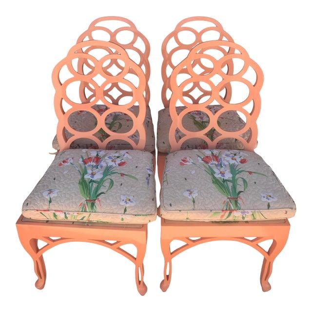 Frances Elkins Loop Chair- Set of 4 For Sale