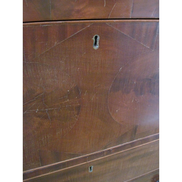Antique Butler's Desk Circa 1828 For Sale - Image 4 of 5