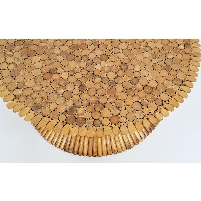 Vintage 1960s Rattan Wheat Sheaf Coffee Table by McGuire For Sale In Miami - Image 6 of 12