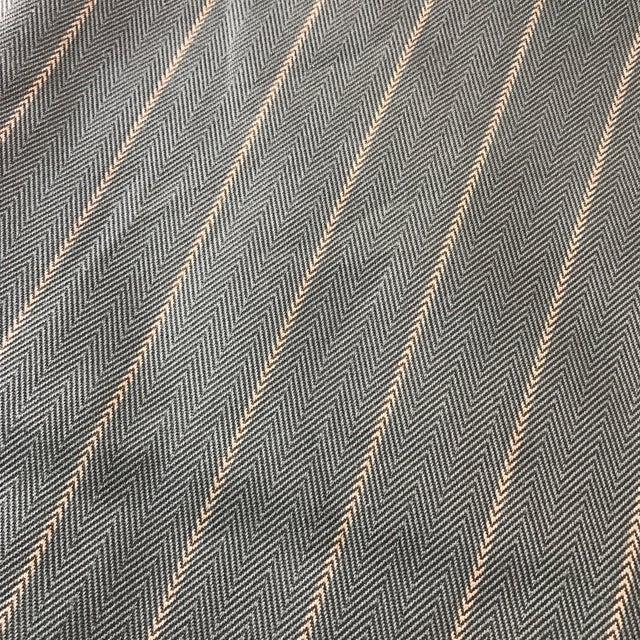Green Herringbone Arrow Upholstery Fabric - 5 Yards - Image 3 of 6