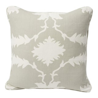 Schumacher Pillow in Garden of Persia Print For Sale