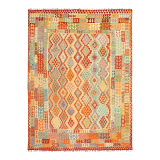 Handmade Turkish Kilim Rug For Sale