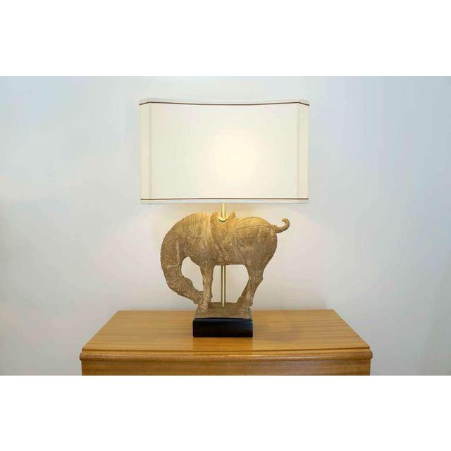 Clay Horse Table Lamp - Image 2 of 10