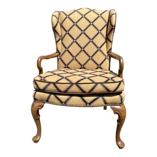Oxford Ltd of Chicago Side Arm Chair For Sale