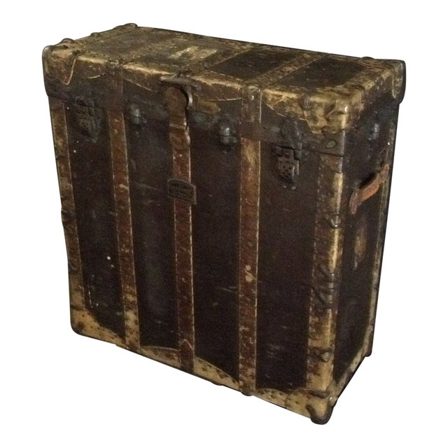 19th Century Trunk by h.c. Faber and Son Co. For Sale